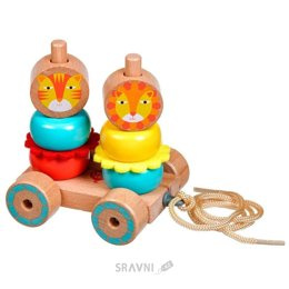 Игрушку для младенцев Lucy&Leo Лев и Львица (LL155)