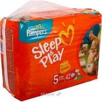 Подгузник Pampers Sleep&Play Junior 5 (42 шт.)