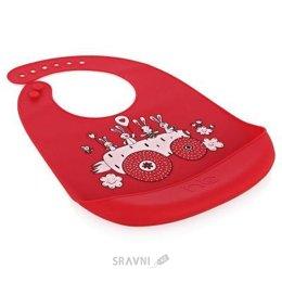 Товар для кормления детей Happy Baby Нагрудник силиконовый мягкий Bib Pocket (16006)