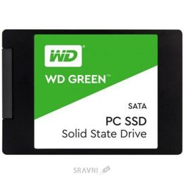 Жесткий диск, SSD-Накопитель Western Digital SSD Green 240GB (WDS240G2G0A)