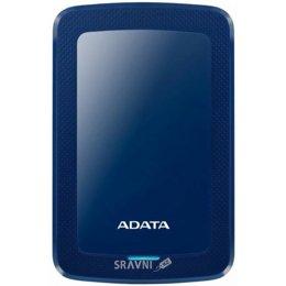 Жесткий диск, SSD-Накопитель A-Data HV300 4 TB Blue (AHV300-4TU31-CBL)