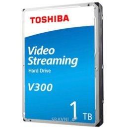 Жесткий диск, SSD-Накопитель Toshiba V300 1TB SATA/64MB (HDWU110UZSVA)
