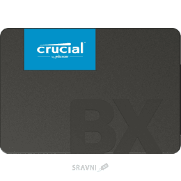 Жесткий диск, SSD-Накопитель Crucial BX500 480GB (CT480BX500SSD1)