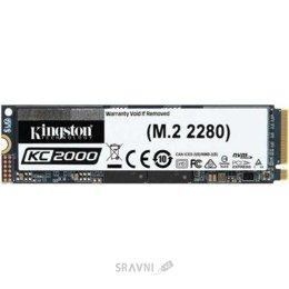 Жесткий диск, SSD-Накопитель Kingston KC2000 500GB M.2 2280 (SKC2000M8/500G)