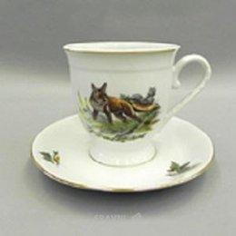 Чашку, кружку Leander Чашка с блюдцем высокая Мэри-Энн 36120417-0363 330 мл
