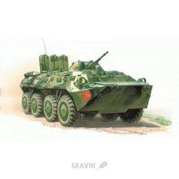 Сборную модель ZVEZDA Российский бронетранспортер БТР-80 (ZVE3558)