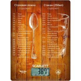 Весы кухонные SCARLETT SC-KS57P19