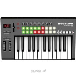 Midi клавиатуру Novation Launchkey 25
