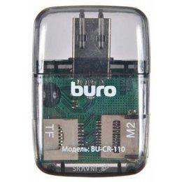 Картридер, USB-hub Buro BU-CR-110