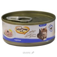 Фото МНЯМС Консервы для котят Курица в нежном желе 0,07 кг