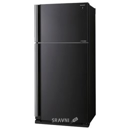 Холодильник и морозильник Sharp SJ-XE55PMBK