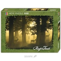 Пазл Heye Олень коллекция Волшебный лес (29497)