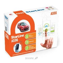 Автосигнализацию StarLine AS96 BT 2CAN+2LIN GSM