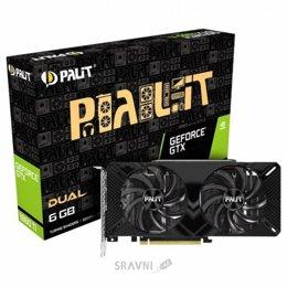 Видеокарту Palit GeForce GTX 1660 Ti Dual (NE6166T018J9-1160A)