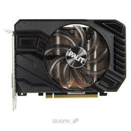 Видеокарту Palit GeForce GTX 1660 Ti StormX OC (NE6166TS18J9-161F)