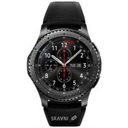 Умные часы, браслет спортивный Samsung Gear S3 Frontier (Dark Gray)