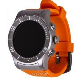 Умные часы, браслет спортивный MyKronoz ZeSport (Titanium/Orange)