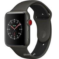 Смарт-часы, фитнес-браслет Apple Watch Series 3 38mm GPS (MQK02)