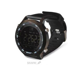 Умные часы, браслет спортивный Ginzzu GZ-701 (Black)