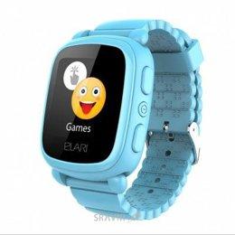 Умные часы, браслет спортивный Elari KidPhone 2 Blue с GPS-трекером (KP-2BL)