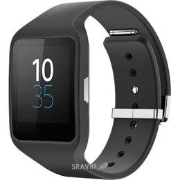 Умные часы, браслет спортивный Sony SmartWatch 3 SWR50 (Black)