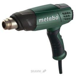 Термовоздуходувку. Фен строительный Metabo HE 20-600