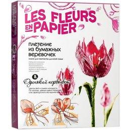 Набор для творчества Фантазер Набор для творчества Плетение из бумаги Одинокий первоцвет (957008)