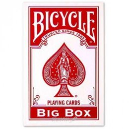 Сувенирную настольную игру Bicycle Big Box Red