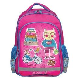Школьный рюкзак, сумку Пифагор Кот-турист (226887)