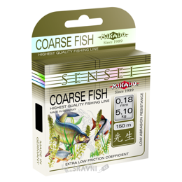 Леску, шнур для рыбалки Mikado Sensei Coarse Fish (0.16mm 150m 4.15kg)