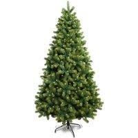 Искусственную новогоднюю елку, сосну Triumph Tree Сосна Женева заснеженная 2,60 м