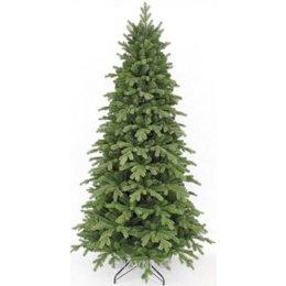 Искусственную новогоднюю елку, сосну Triumph Tree Сосна Женева заснеженная 2,30 м