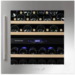 Винный и витринный холодильник Dunavox DAB-36.80DSS