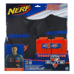 Игрушечное оружие Hasbro Жилет агента Nerf со стрелами и обоймами (A0250)